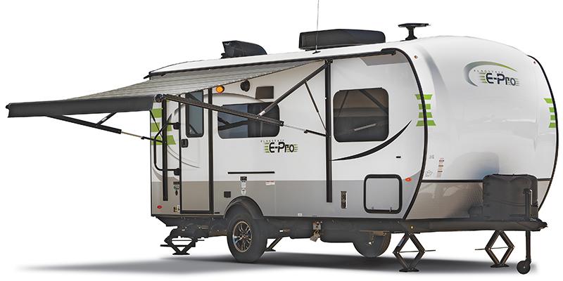 2018, Forest River, Flagstaff E-Pro E19FD, Travel Trailers