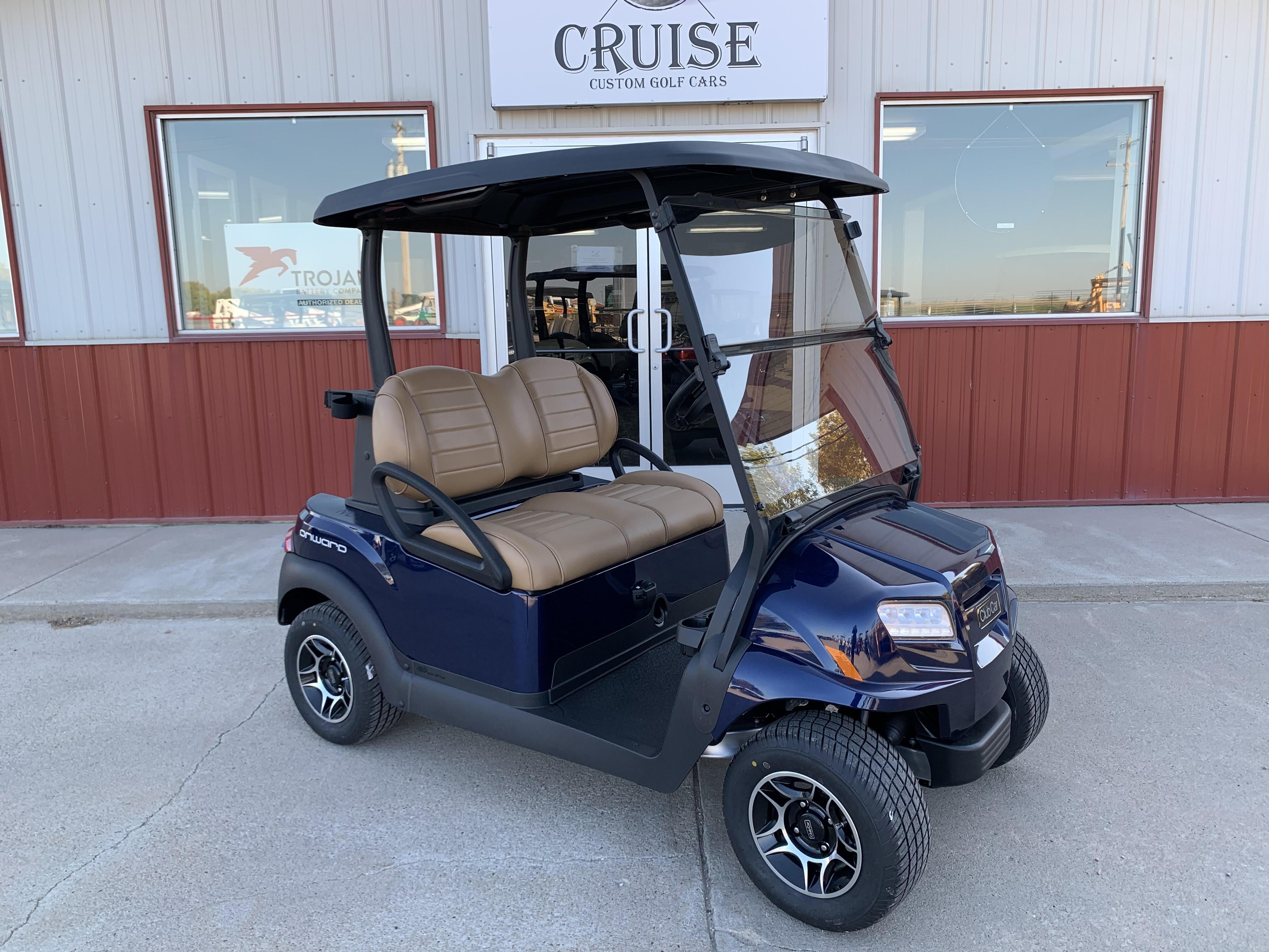 New, 2021, Club Car, Onward 2 Passenger Electric, Golf Carts