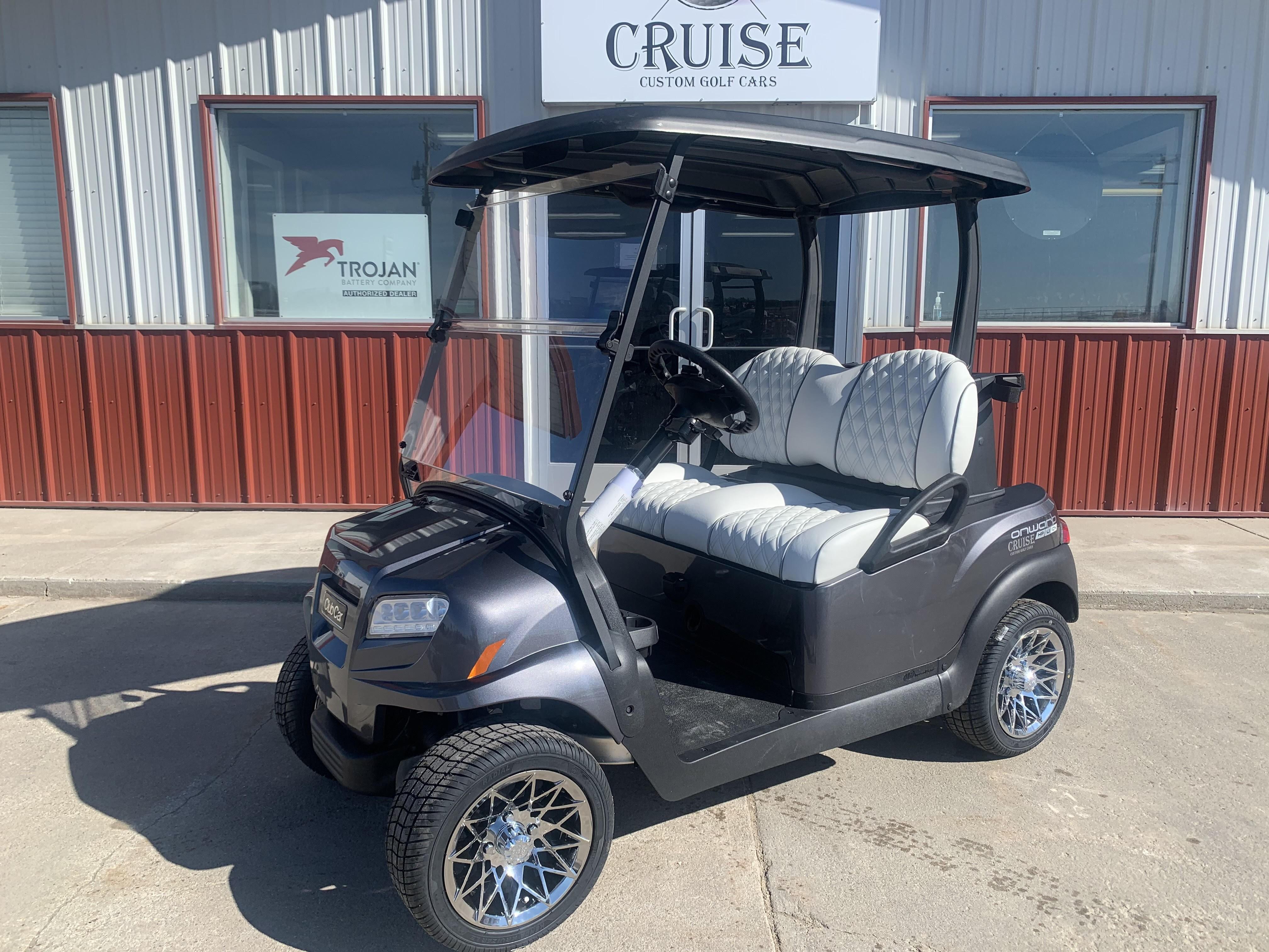 New, 2021, Club Car, Onward 2 Passenger Electric Lithium Ion Battery, Golf Carts