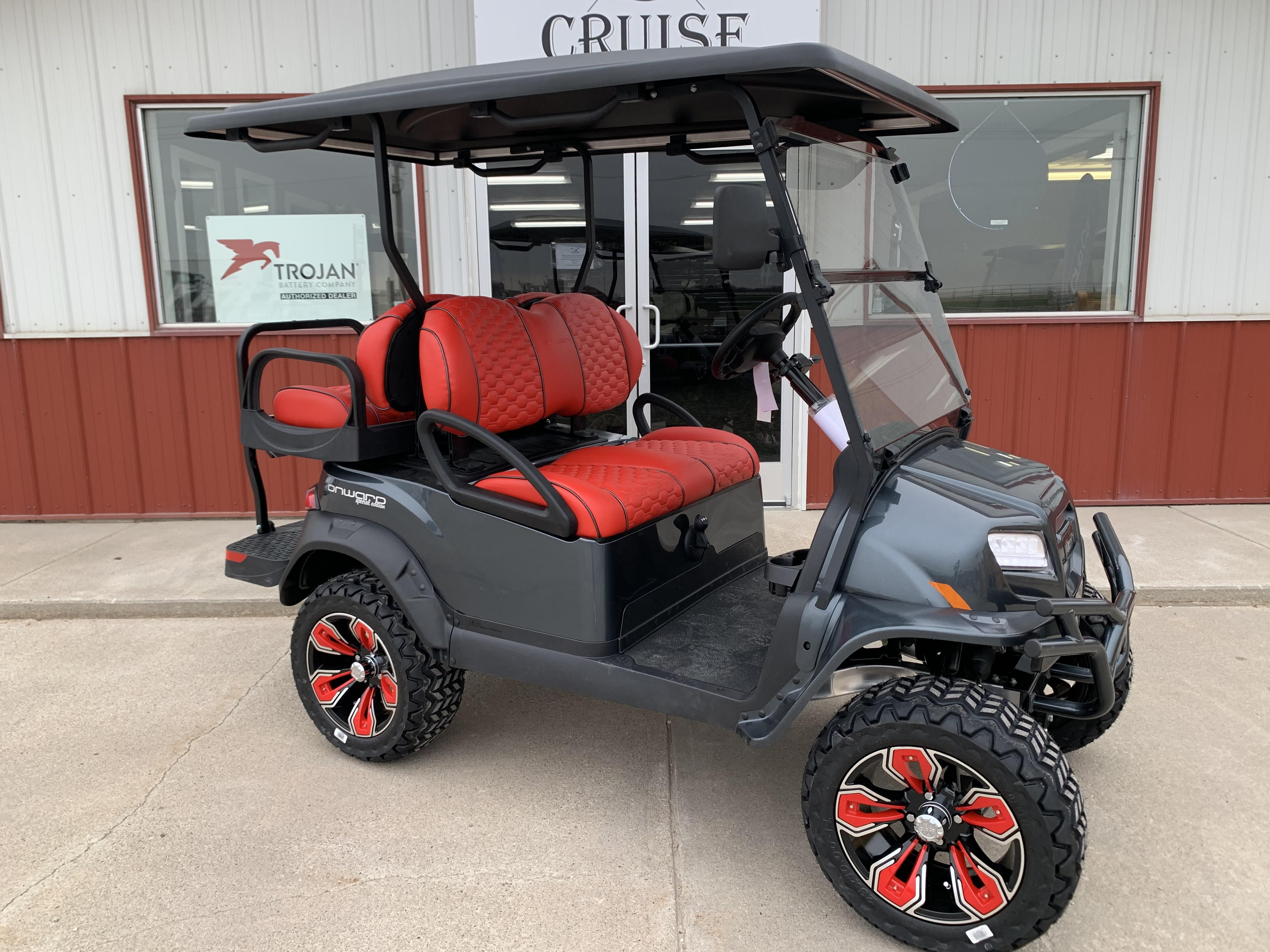 New, 2021, Club Car, Special Edition Road Runner GAS 4 Passenger, Golf Carts