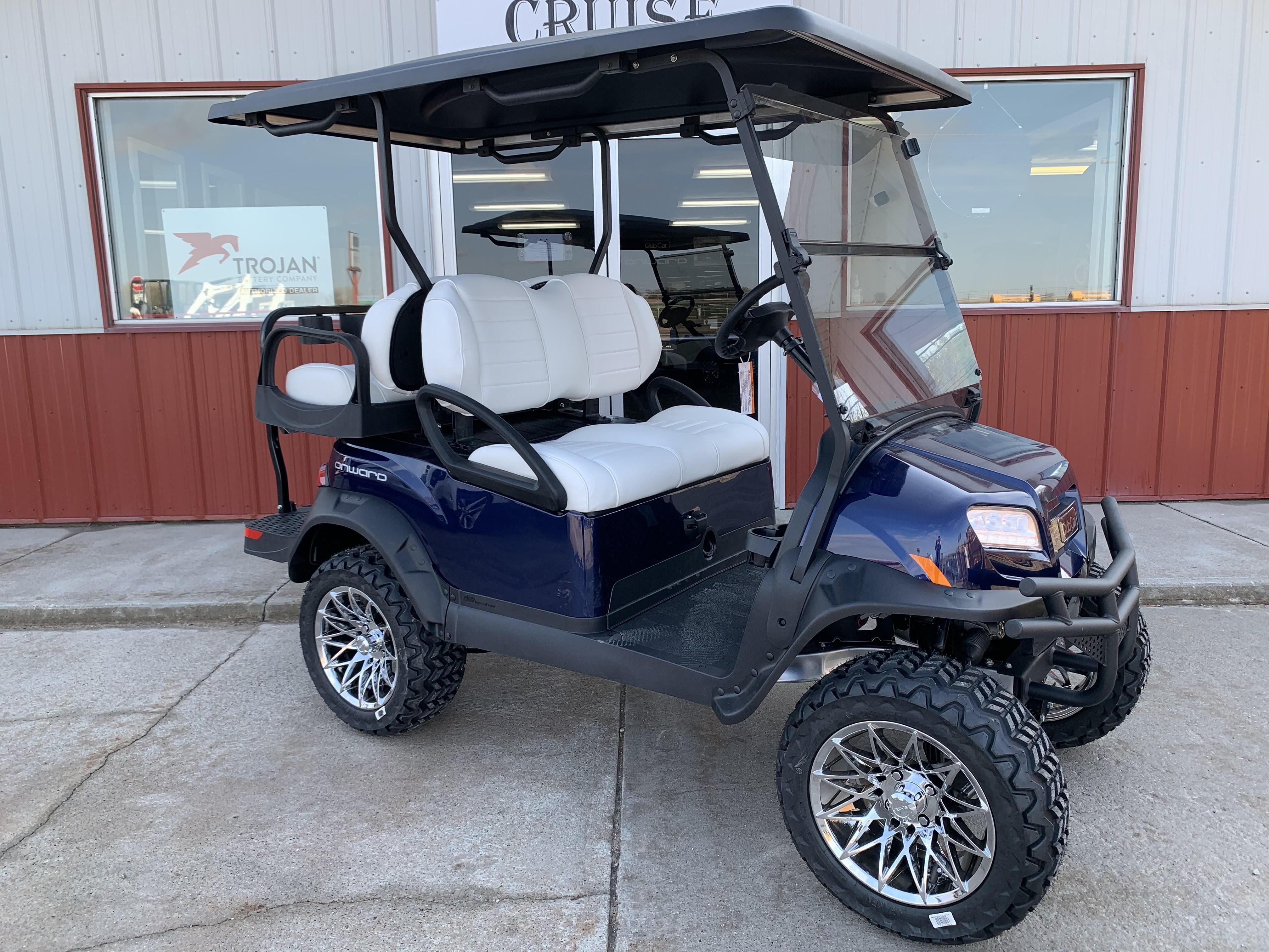 New, 2021, Club Car, Onward 4 Passenger Electric, Golf Carts
