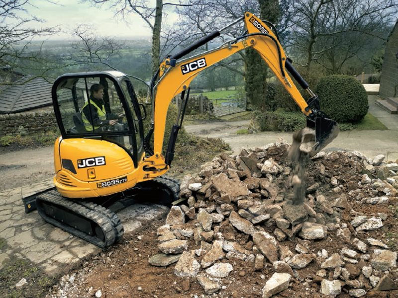 New, 2016, JCB, 8035 ZTS, Excavators
