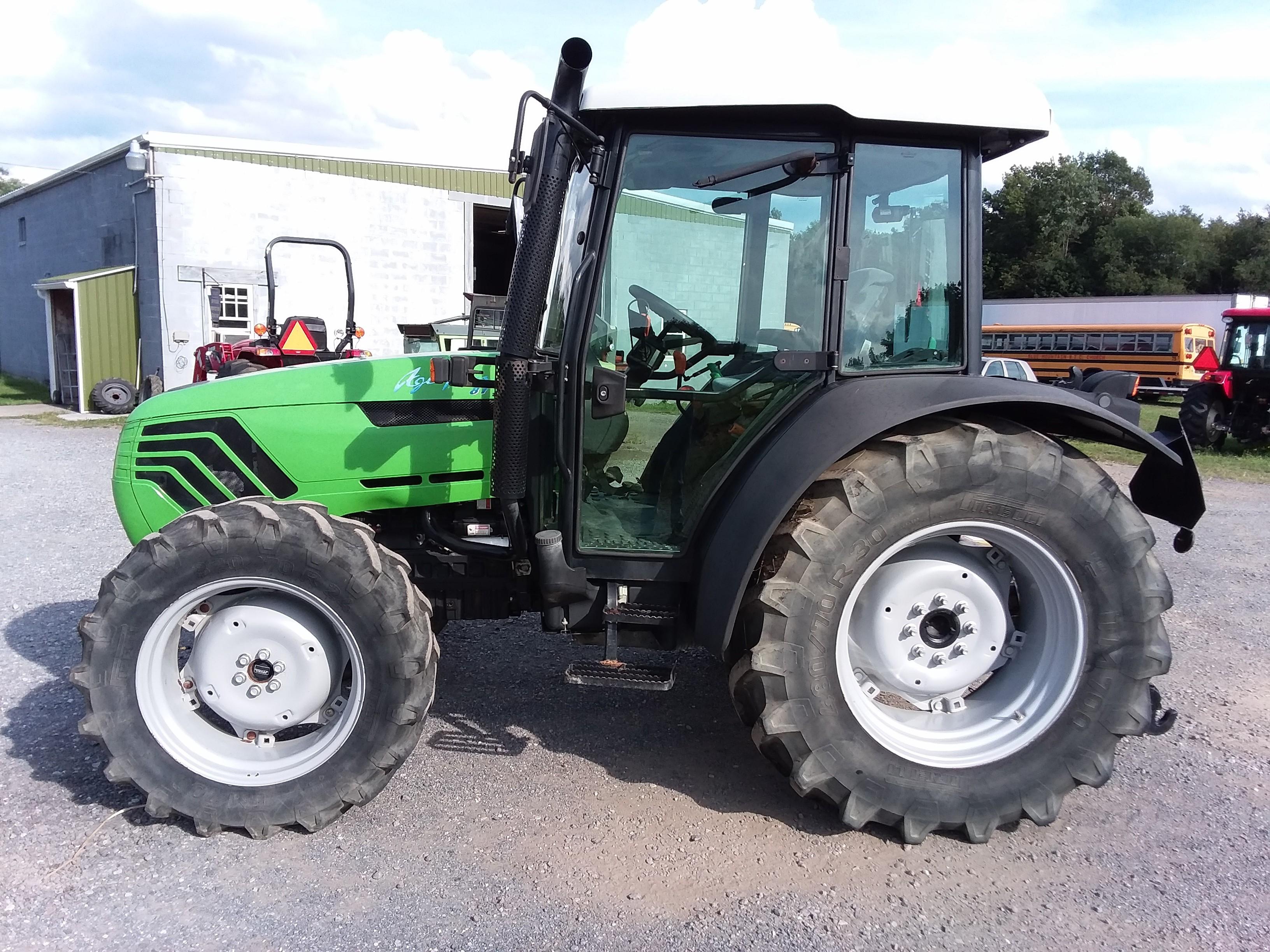 Used, 2009, Deutz-Fahr, Agroplus 87, Tractors