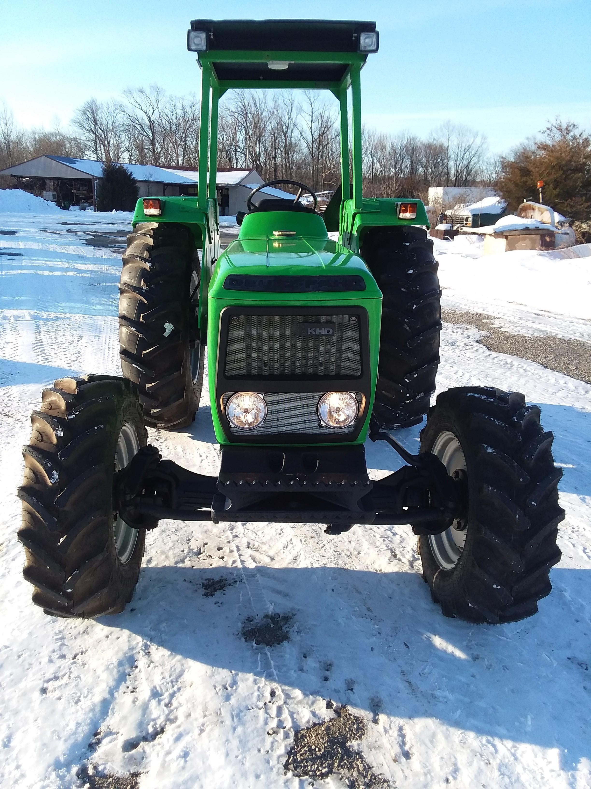 Used, 1983, Deutz-Fahr, D6507A, Tractors