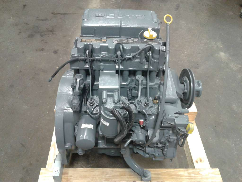 Other, 2002, Other, Deutz Engine BF3M1011F, Other