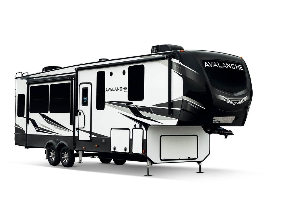 New, 2021, Keystone, Avalanche 322RL, Fifth Wheels
