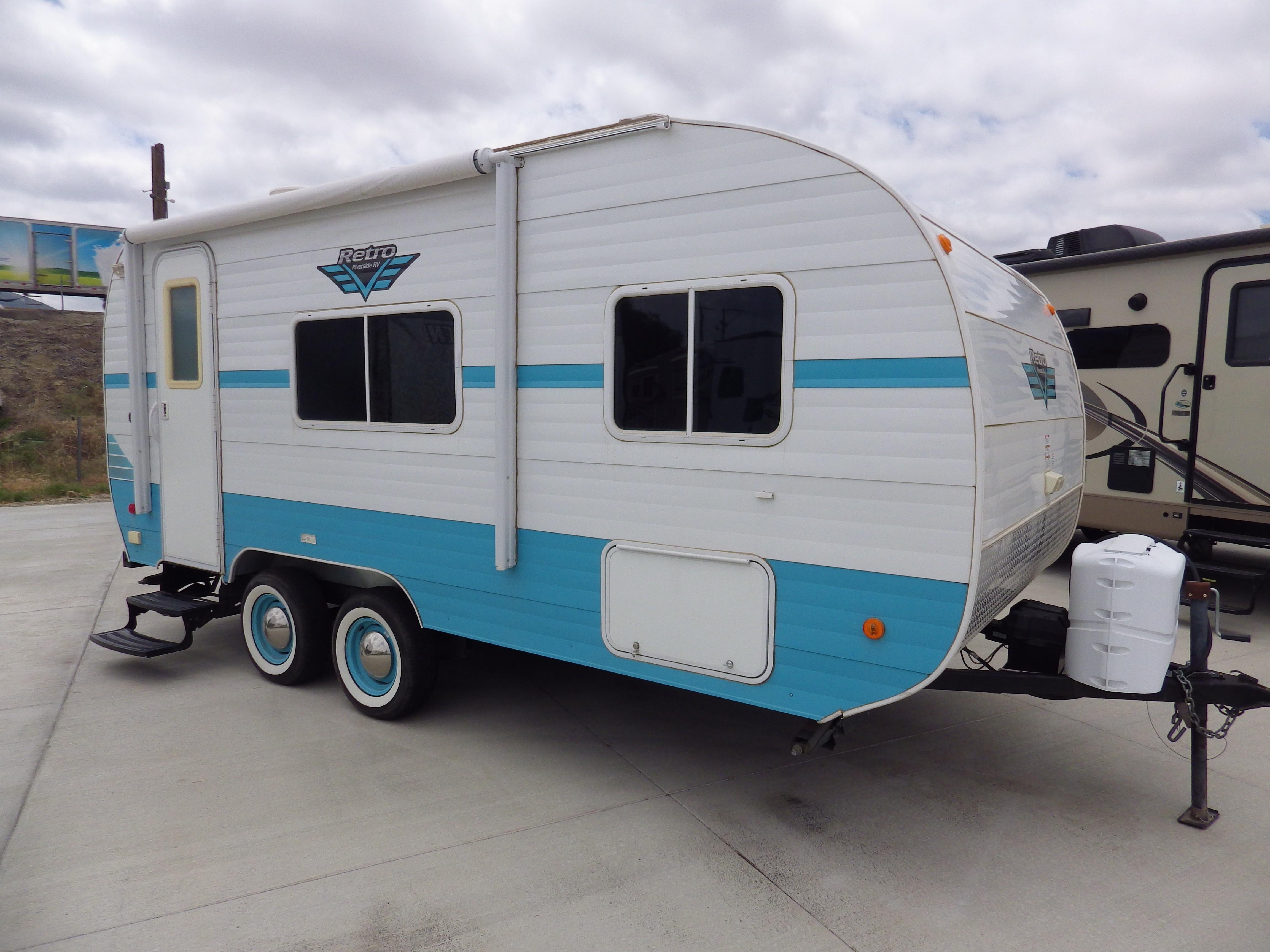 Used, 2018, Riverside RV, Retro 180R, Travel Trailers