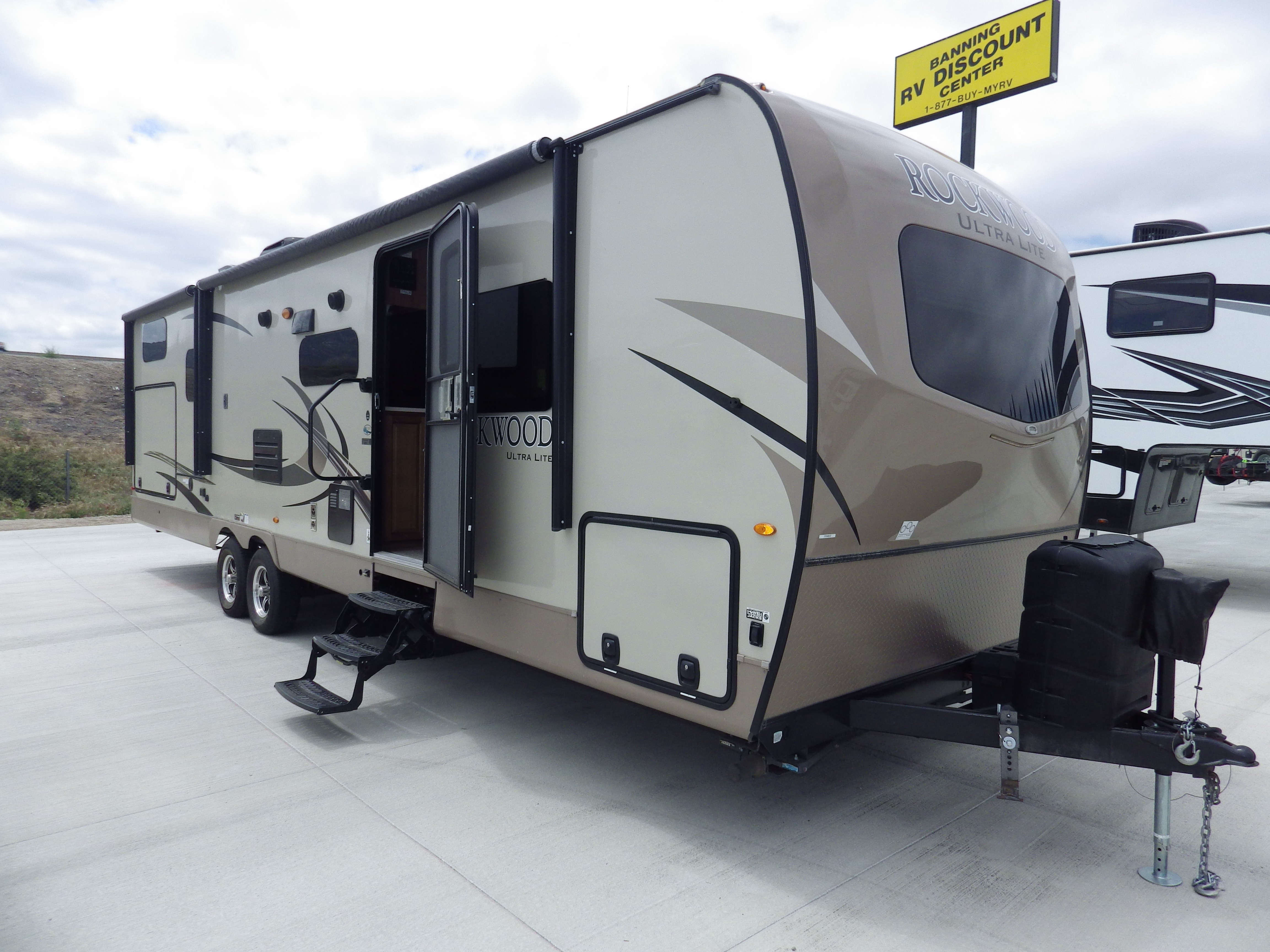 Used, 2018, Forest River, Rockwood Ultra Lite 2909WS, Travel Trailers