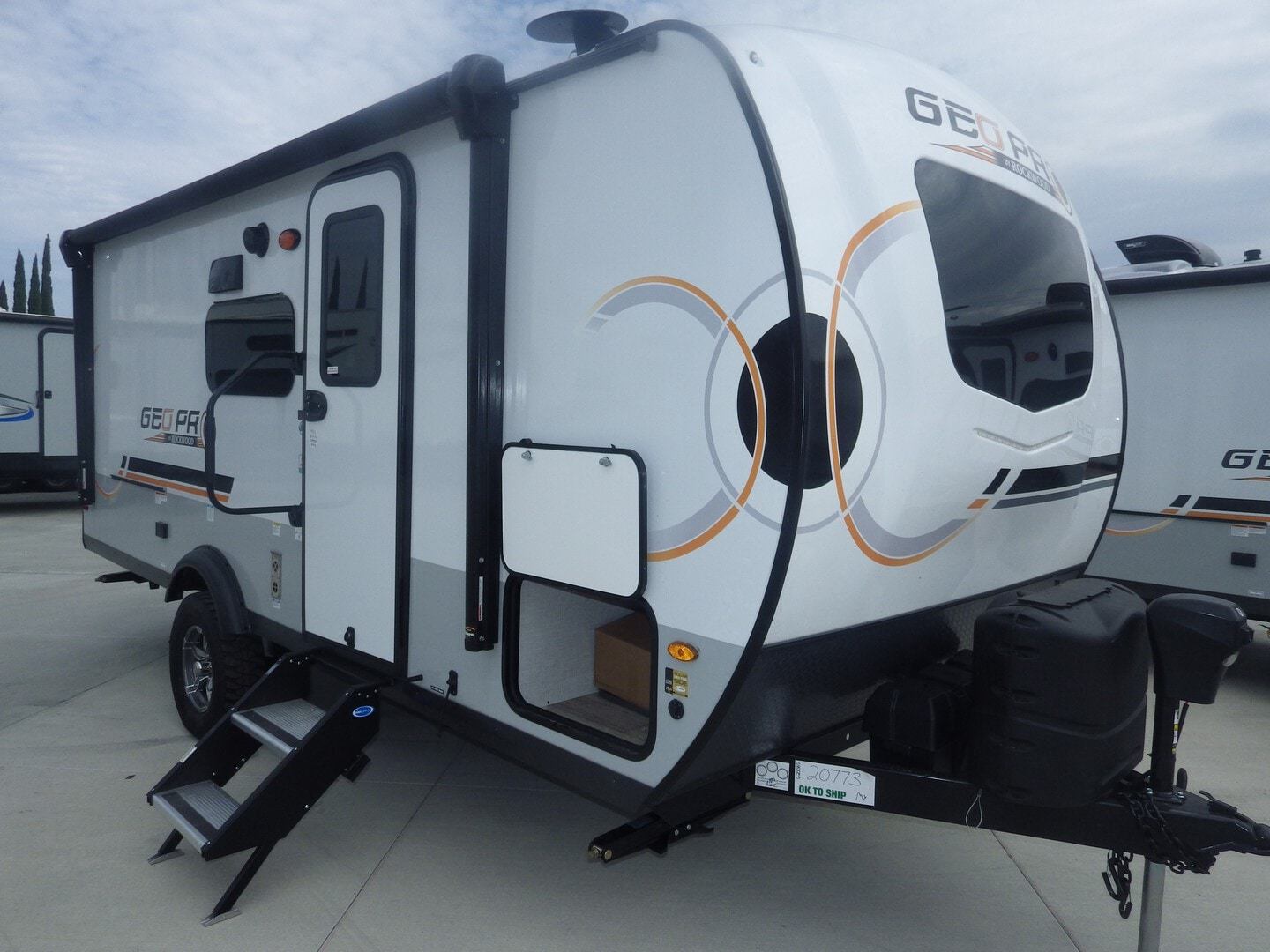 New, 2022, Forest River, GEO PRO 20BHS, Travel Trailers