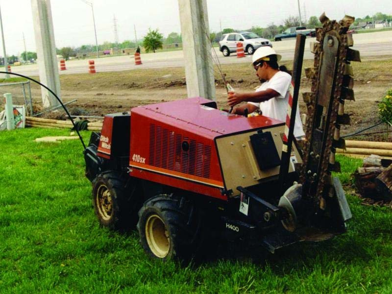 New, 2015, Ditch Witch, 410SX, Trenchers