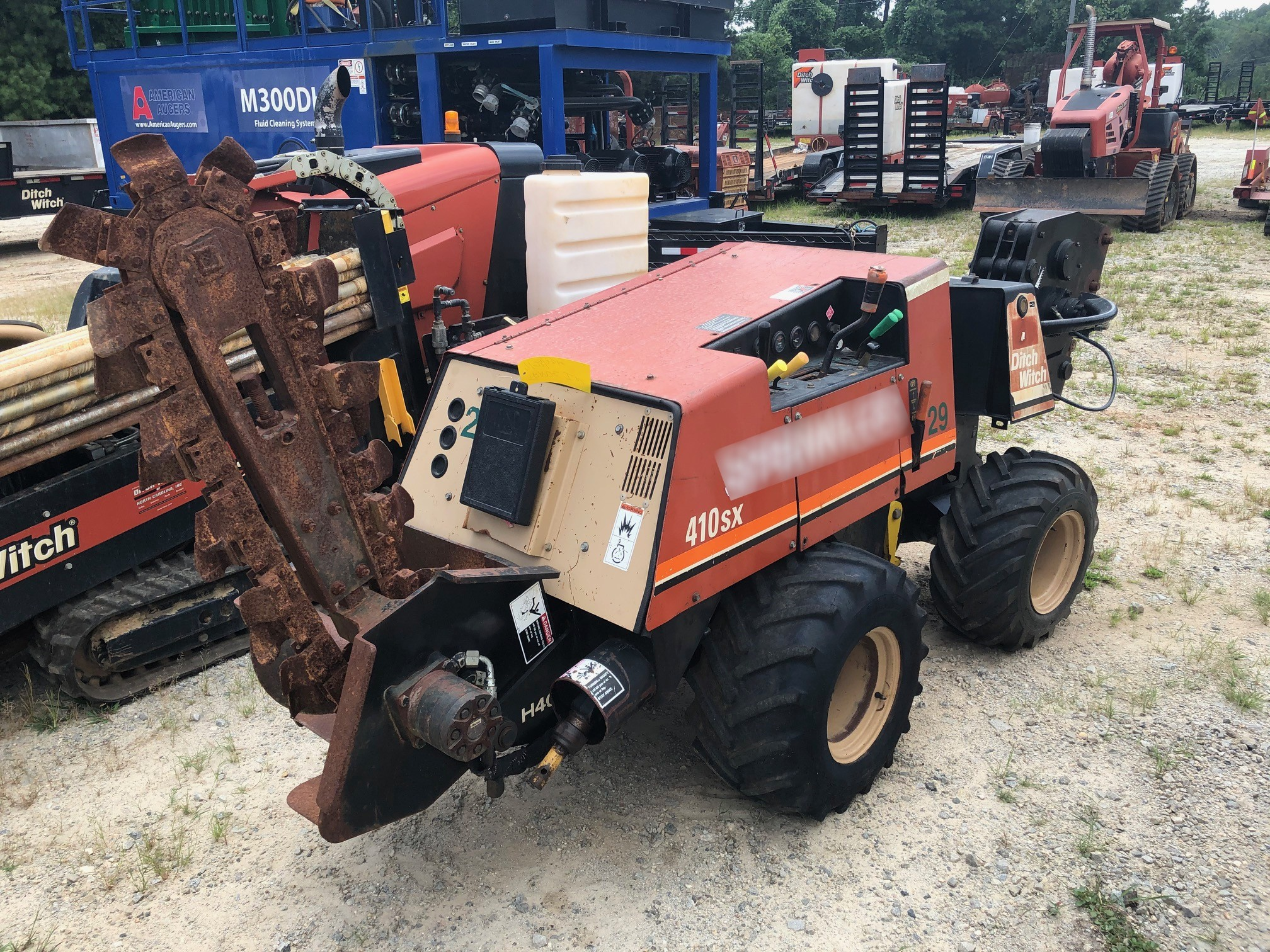 Used, 2008, Ditch Witch, 410SX, Trenchers