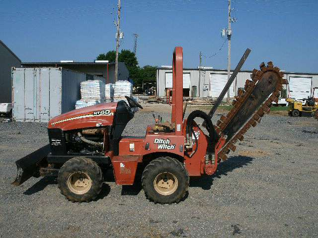Used, 2008, Ditch Witch, RT40, Trenchers