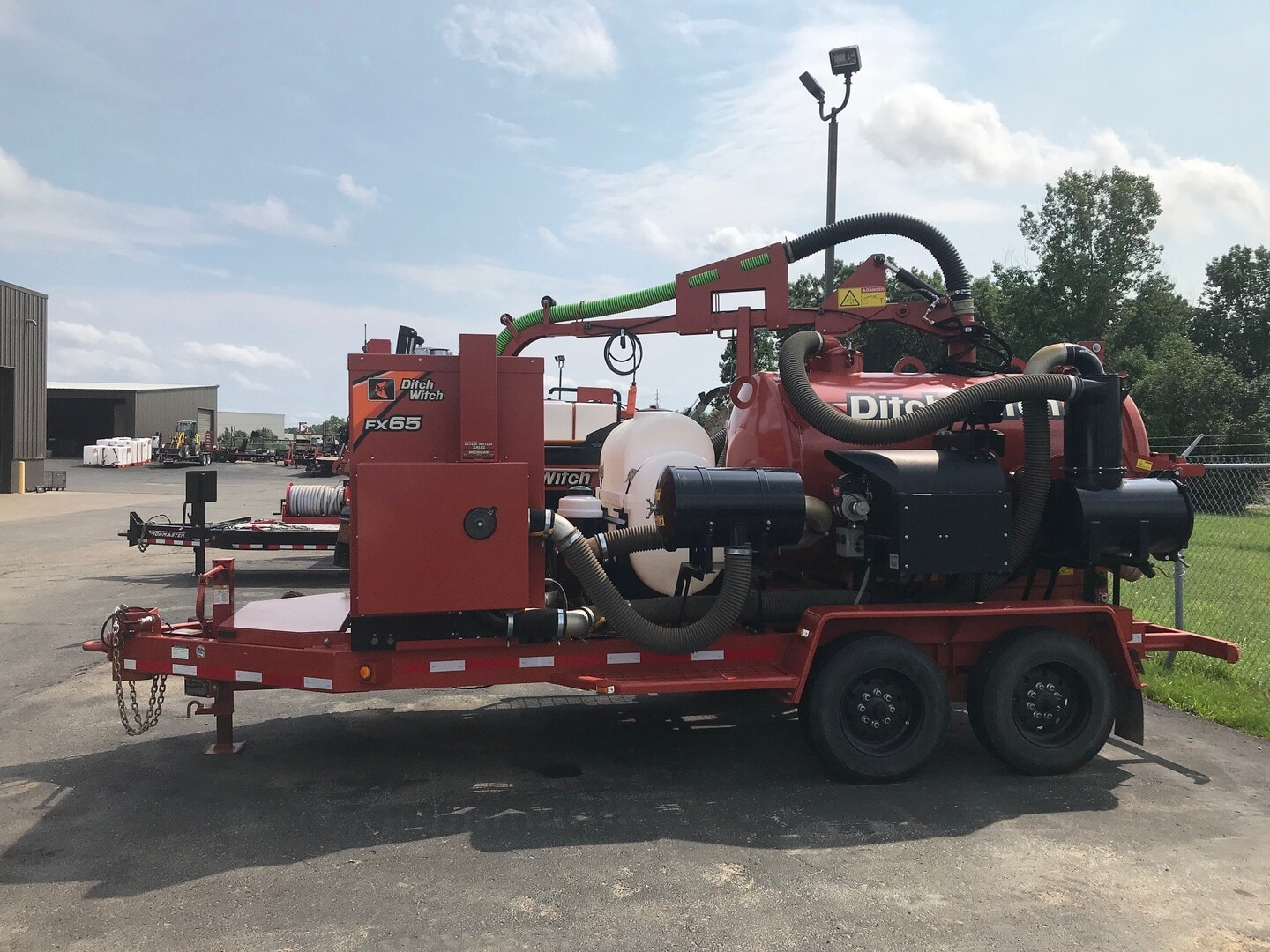 Used, 2018, Ditch Witch, FX65, Vacuums