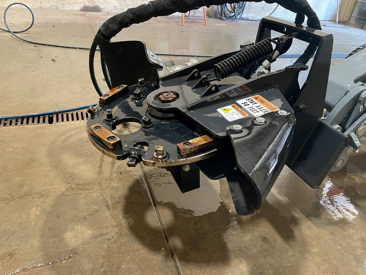 Used, 2018, Miscellaneous, Stumper 240ST MS, Stump Grinder Attachments
