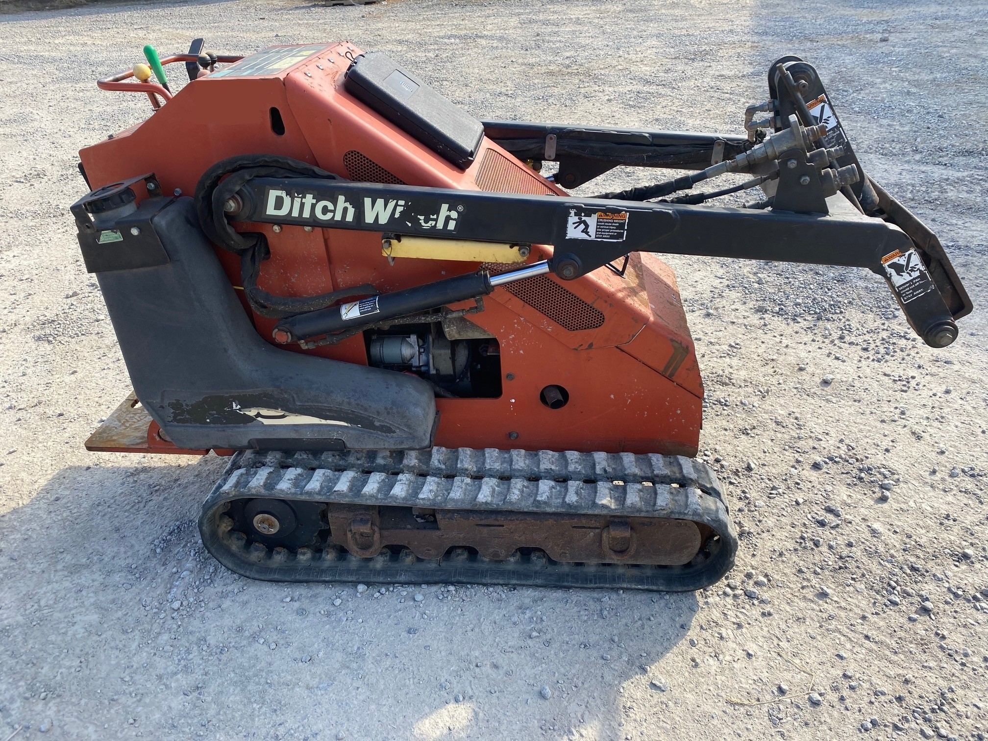 Used, 2009, Ditch Witch, SK650, Skid Steers