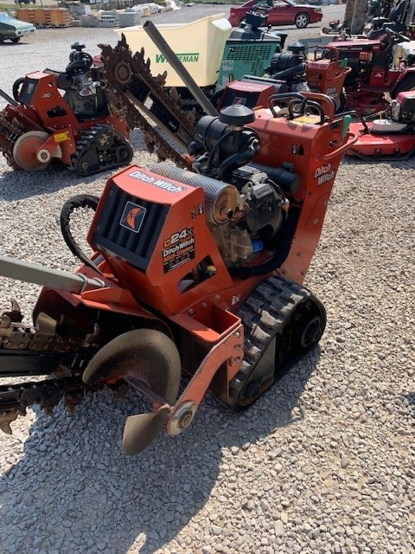Used, 2017, Ditch Witch, C24X, Trenchers