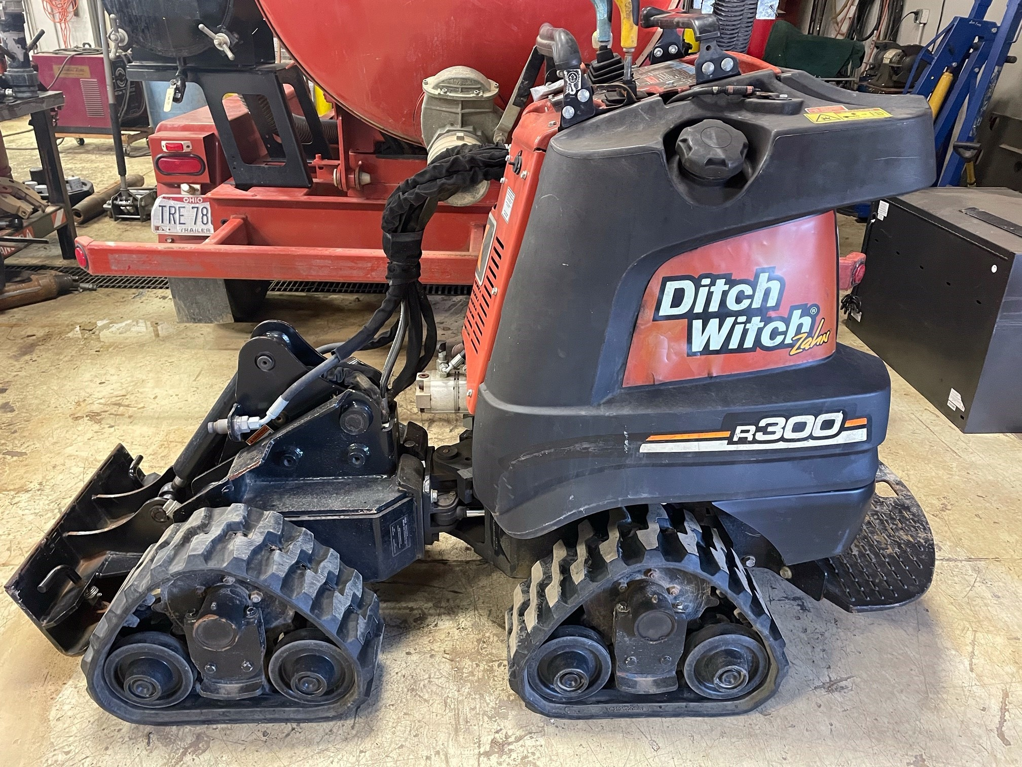 Other, 2014, Ditch Witch, Zahn R300, Skid Steers