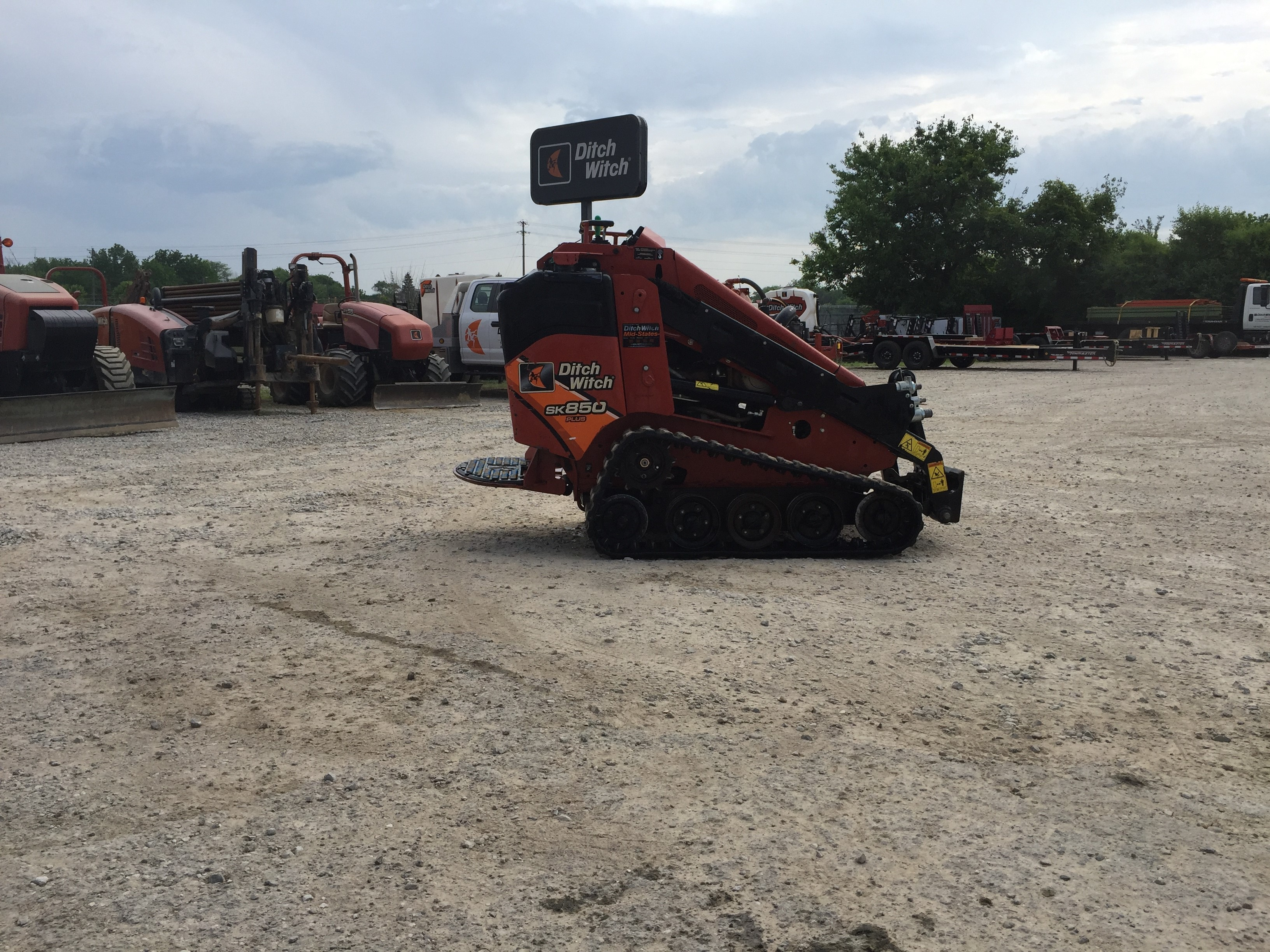 Used, 2016, Ditch Witch, SK850, Skid Steers