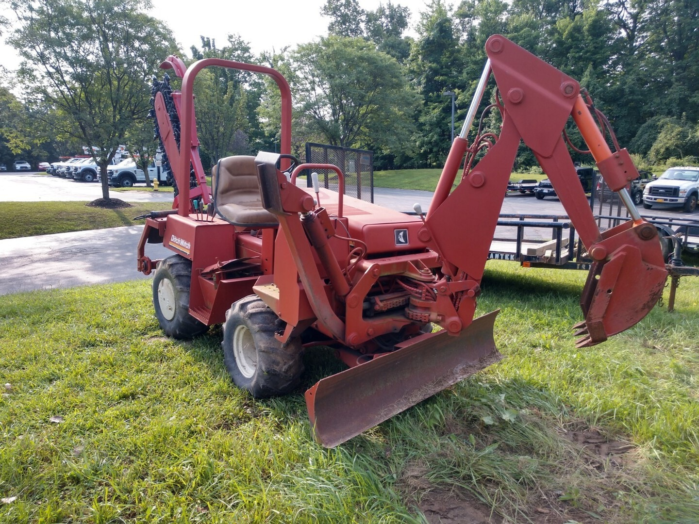 Used, 1989, Ditch Witch, 3500, Ditchers / Trenchers