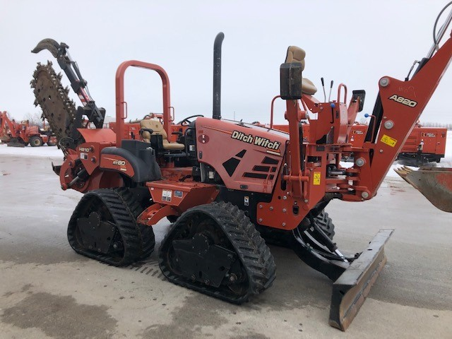 Used, 2013, Ditch Witch, RT80, Trenchers