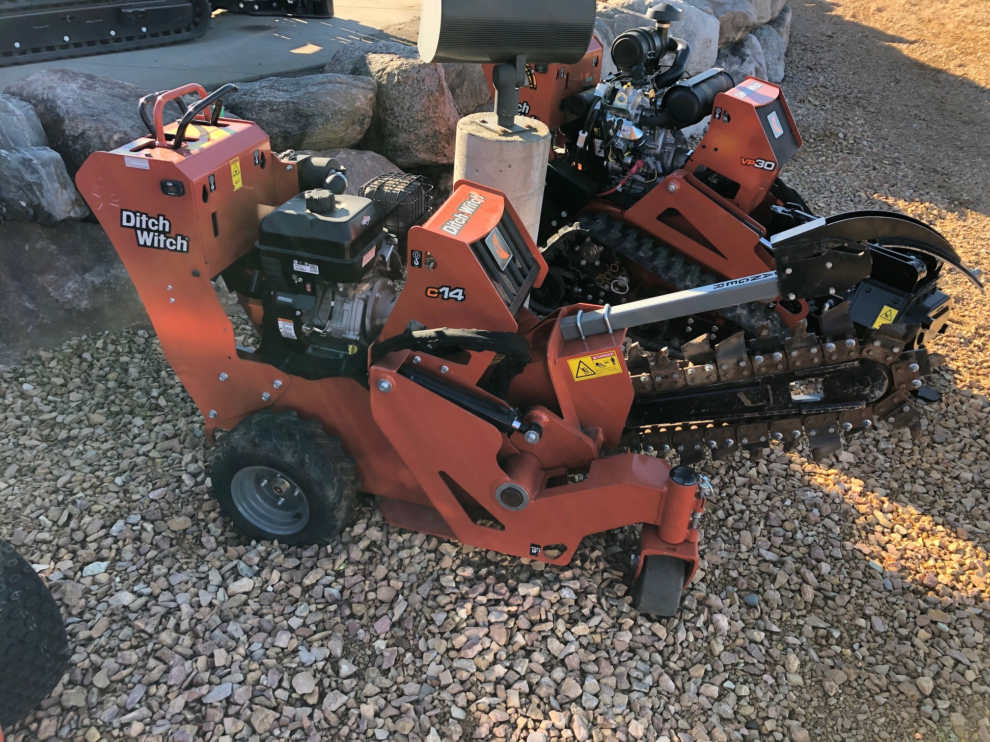 New, 2017, Ditch Witch, C14, Trenchers