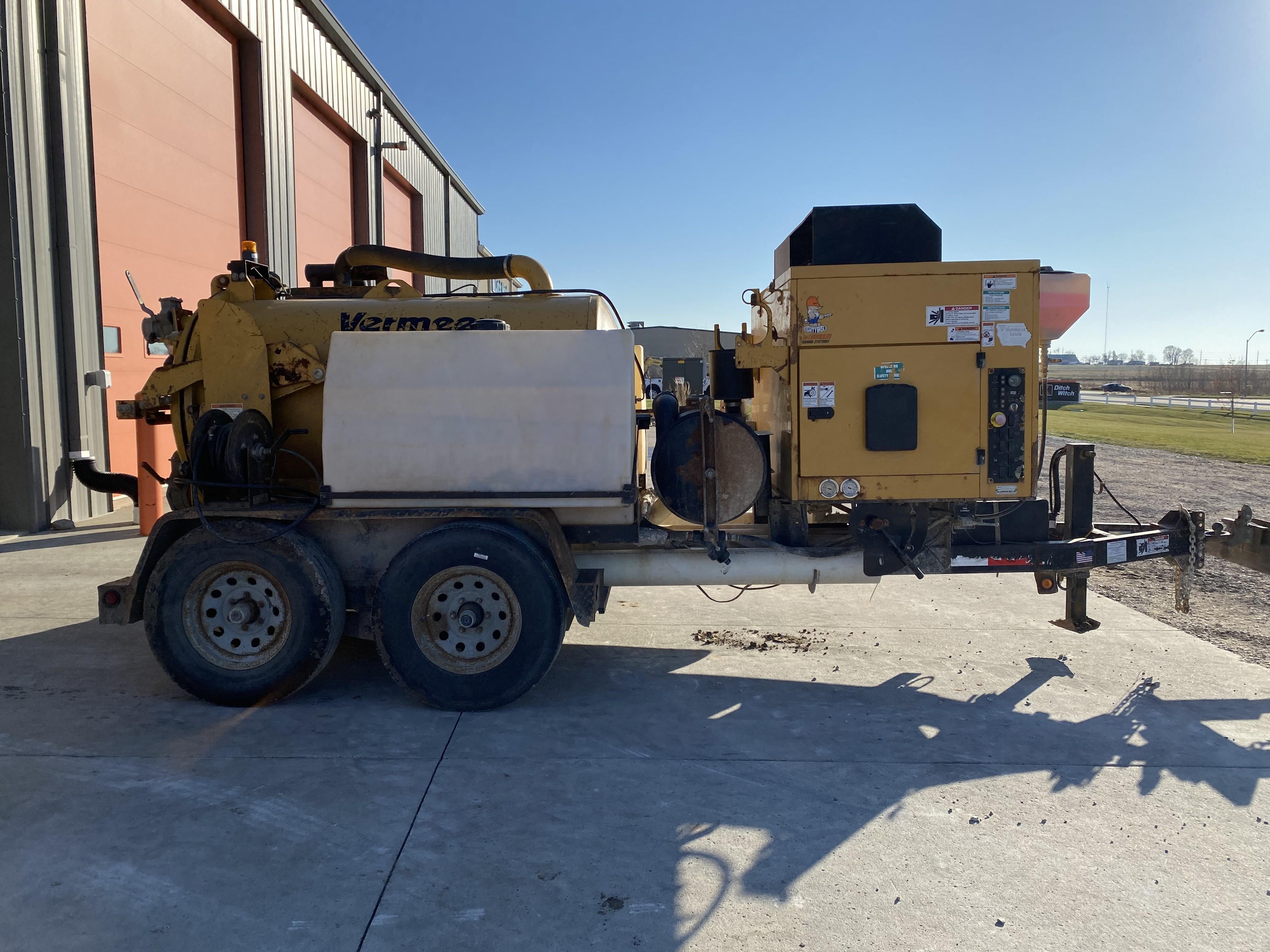 Used, 2012, Vermeer, MaLaughlin V500 500/200, Vacuum Excavators
