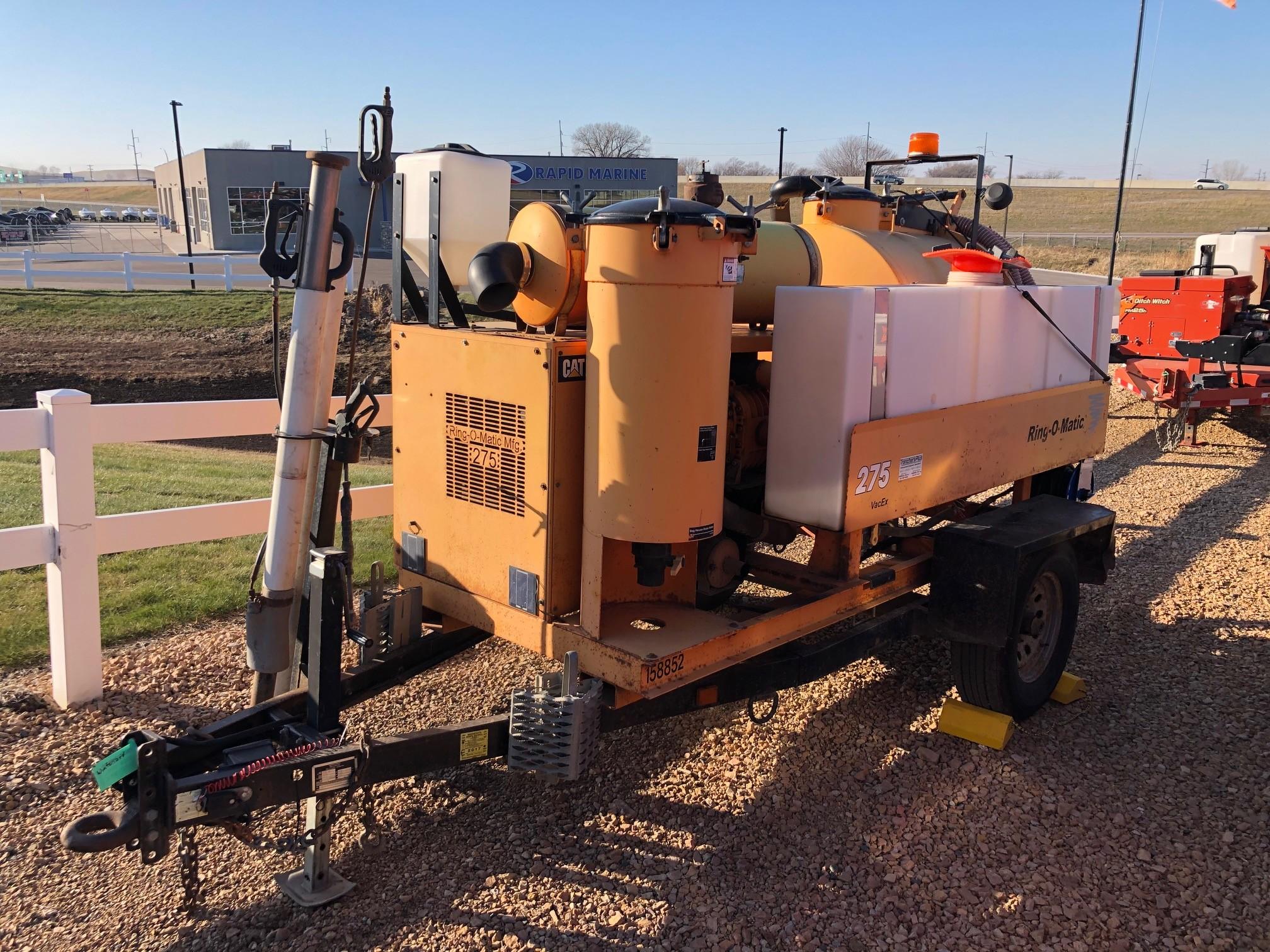 Used, 2012, Miscellaneous, Ring-O-Matic 275, Vacuum Excavators