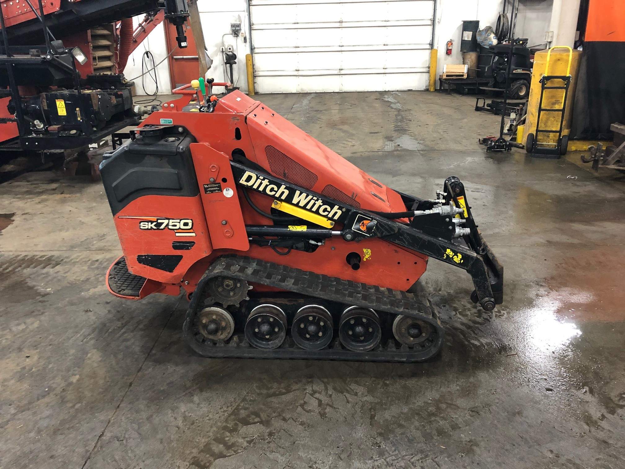 Used, 2015, Ditch Witch, SK750, Skid Steers