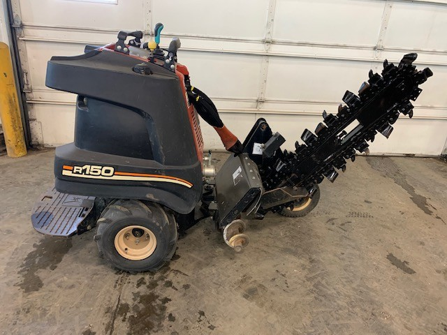 Used, 2008, Ditch Witch, Zahn - R150 2WD, Trenchers