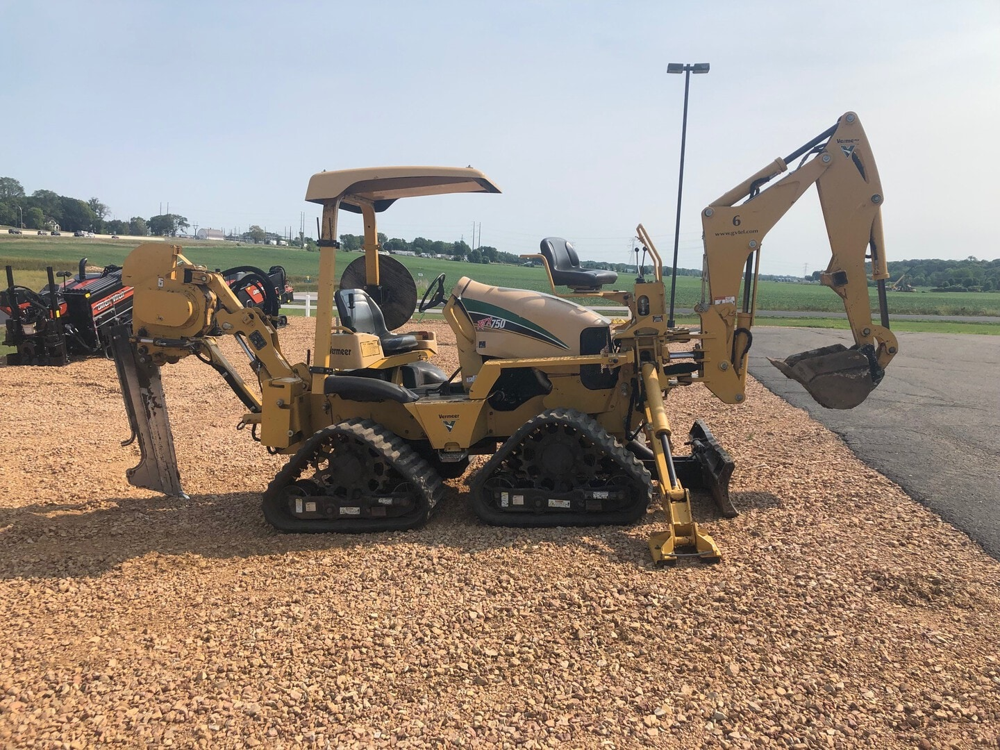 Used, 2009, Vermeer, RTX750, Trenchers