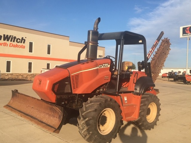 Used, 2006, Ditch Witch, RT115H, Trenchers