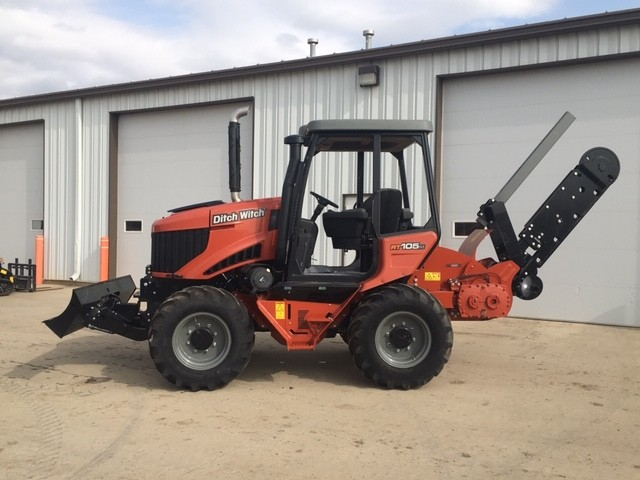 New, 2019, Ditch Witch, RT105, Trenchers
