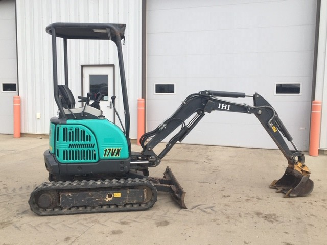 Used, 2015, IHI, 17vxe, Excavators