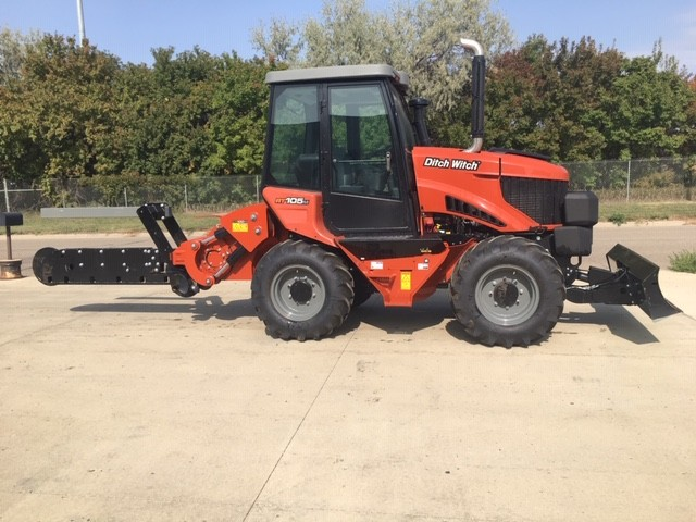 New, 2020, Ditch Witch, RT105, Trenchers