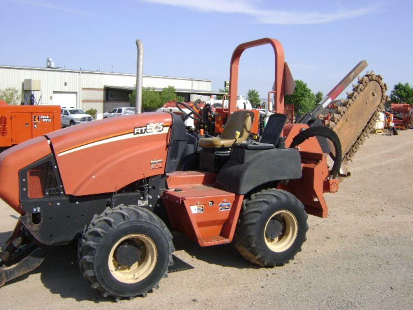 Used, 2004, Ditch Witch, RT55, Trenchers