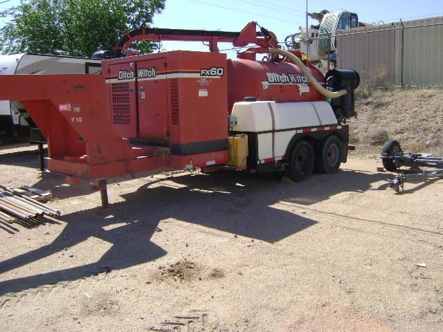 Used, 2013, Ditch Witch, FX60/1200, Vacuum Excavators