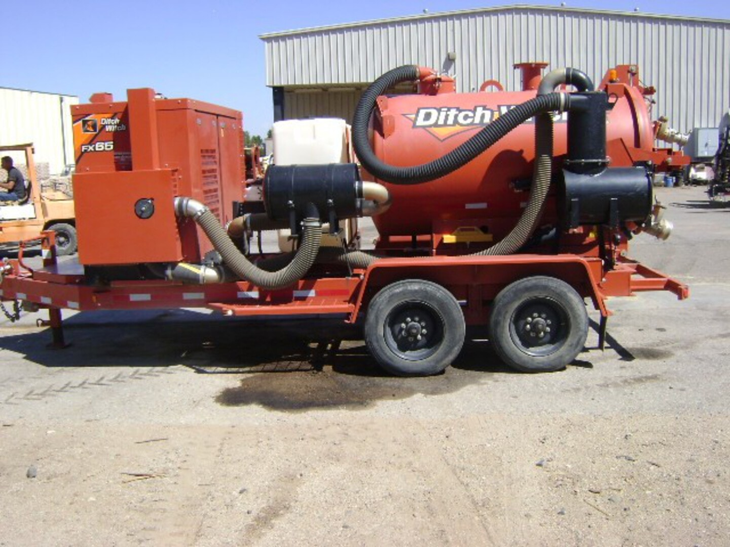 Used, 2017, Ditch Witch, FX65, Vacuums