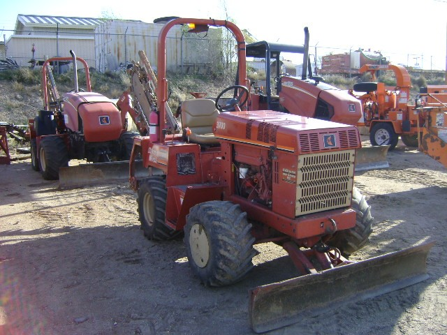 Used, 1999, Ditch Witch, 3700DD, Trenchers