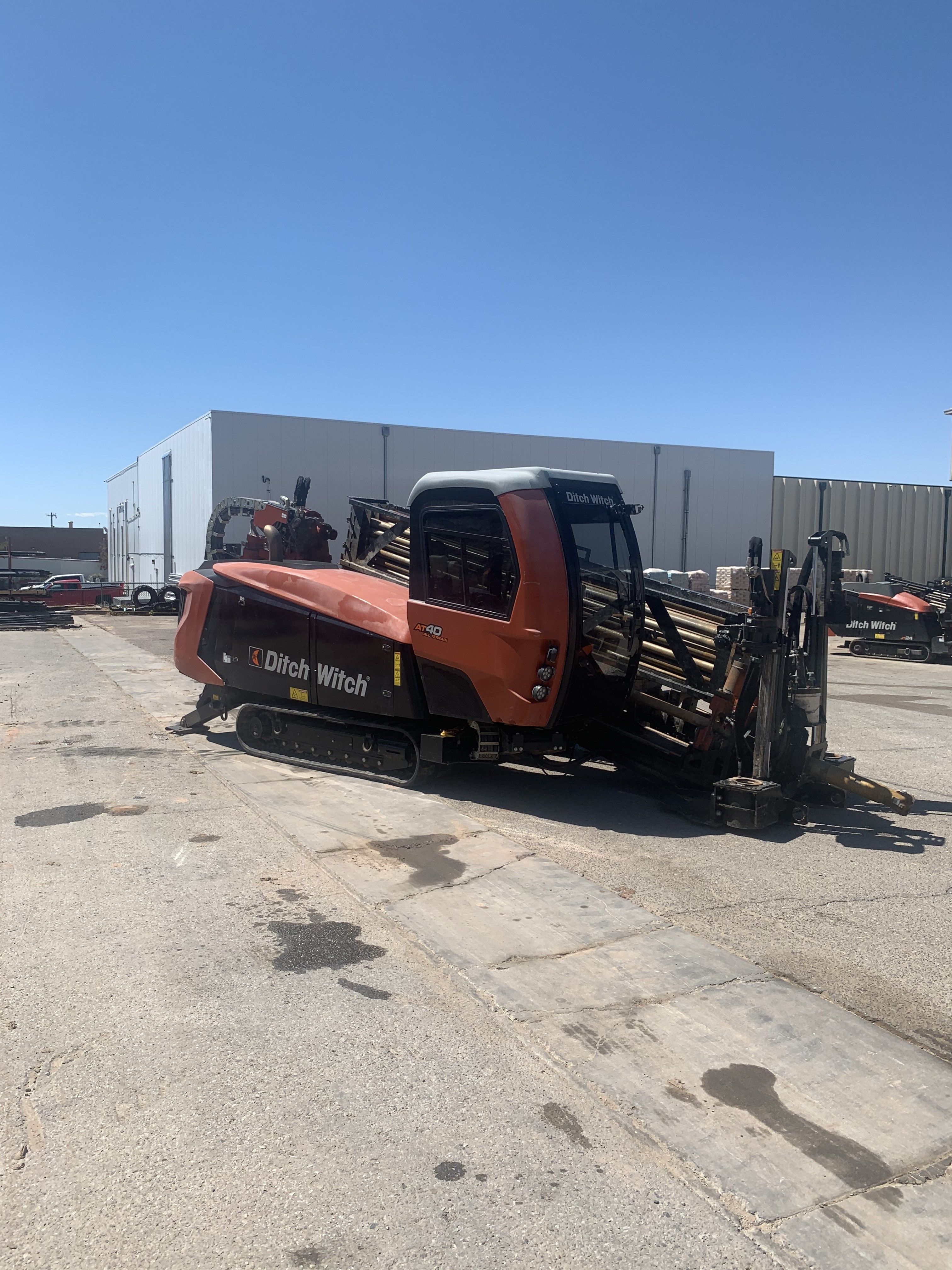 Used, 2019, Ditch Witch, AT40 All Terrain, Drills