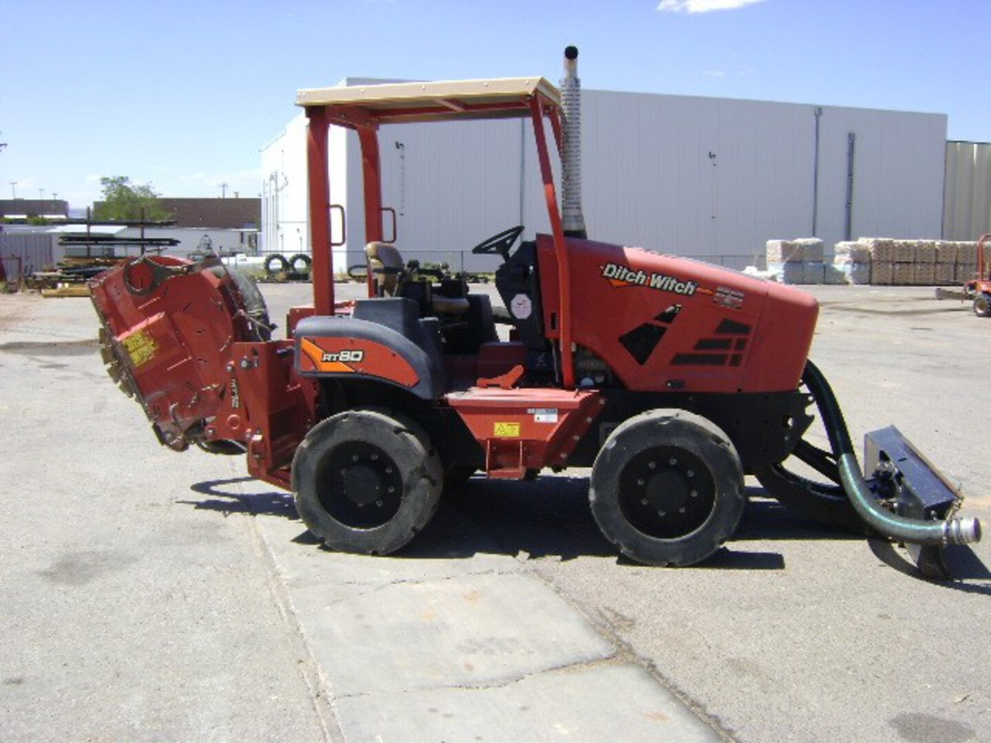 Used, 2017, Ditch Witch, RT80 Microtrencher, Trenchers