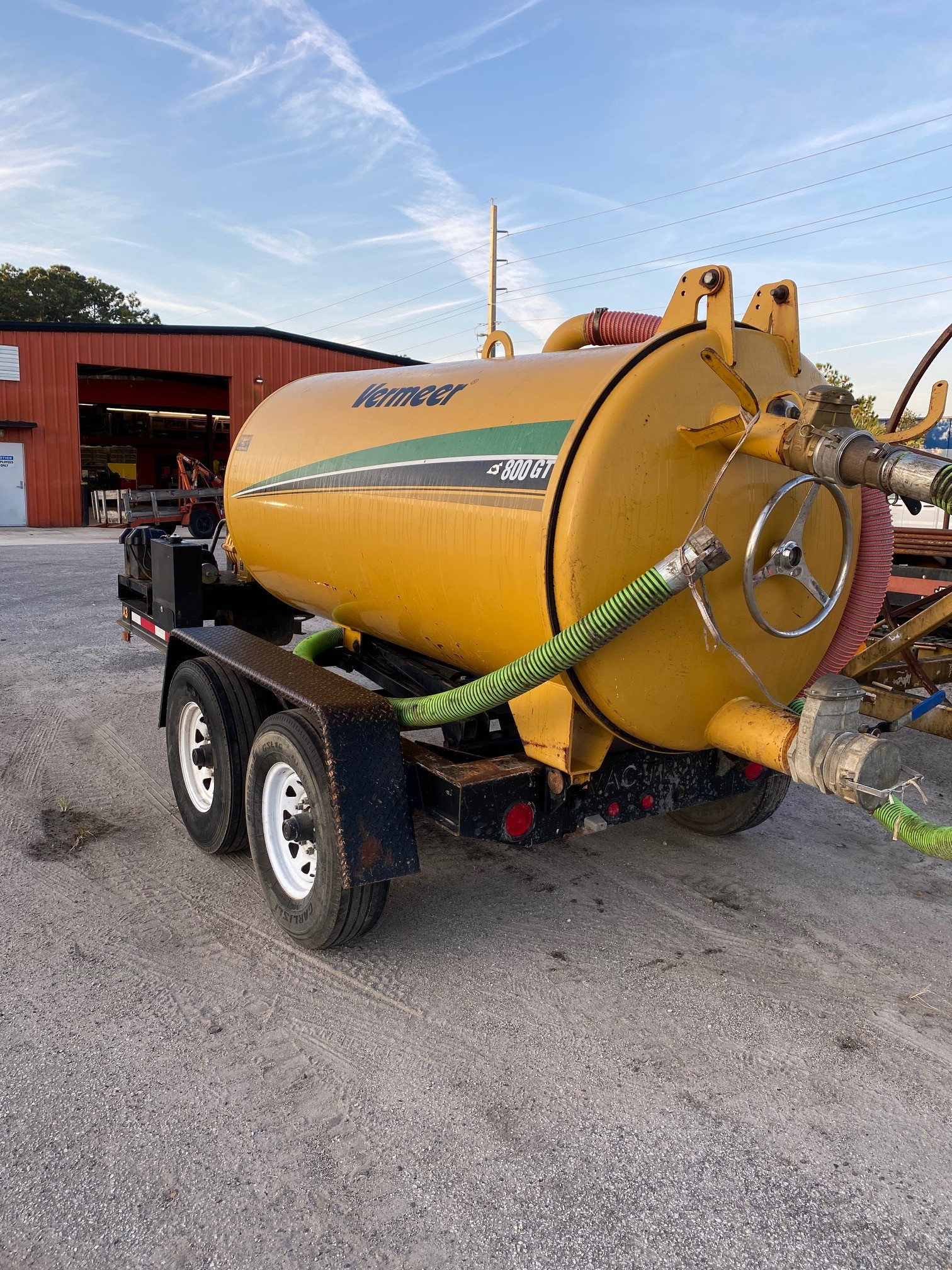 Used, 2014, Vac-Tron, CS800-GT Sucker Only, 800 Gallon Vac, Vacuums