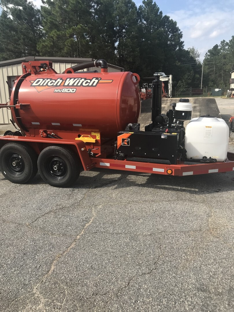Used, 2019, Ditch Witch, MV800 with Water, Vacuums