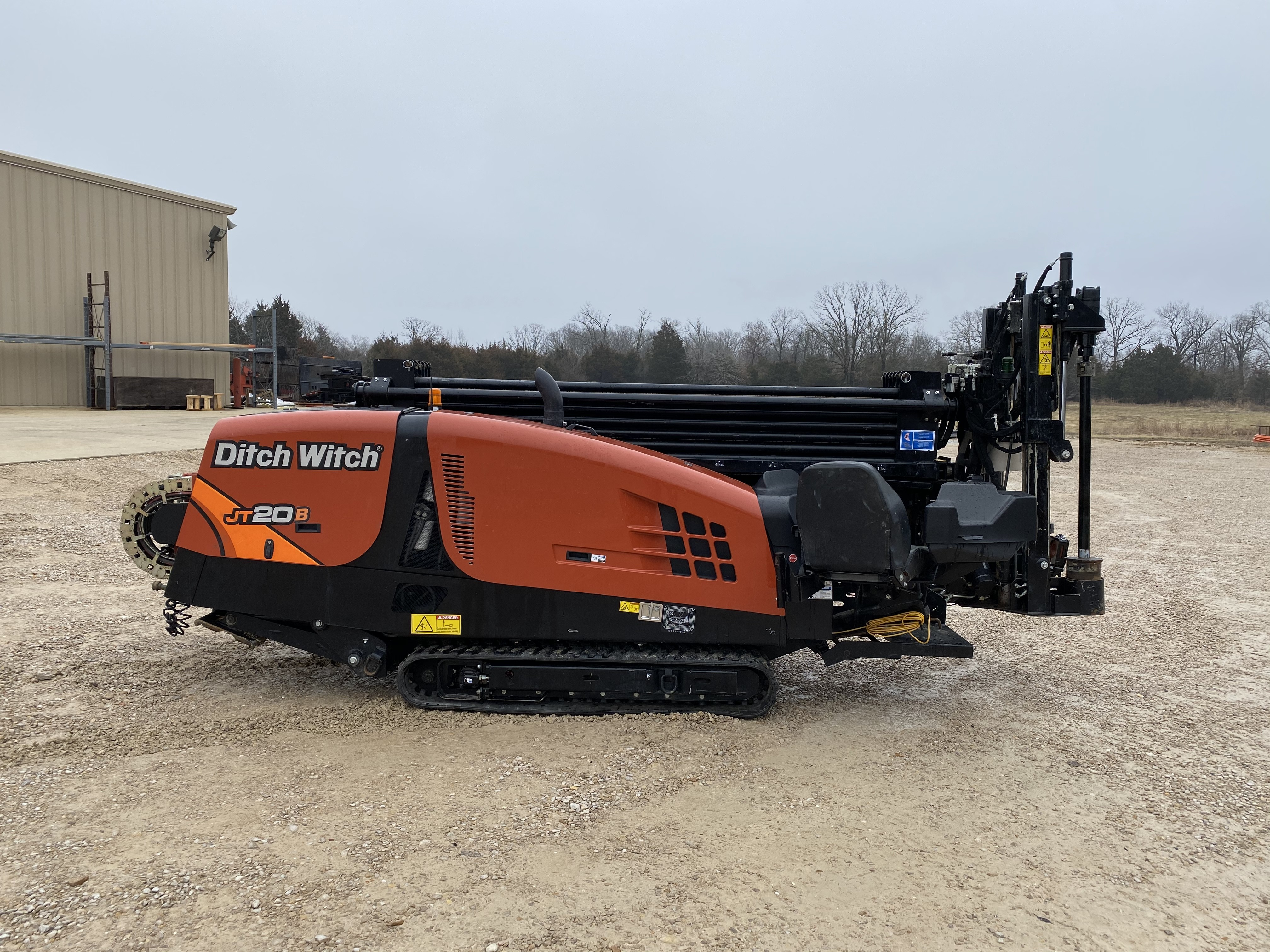 Used, 2019, Ditch Witch, JT20 with 400' Brand New Fluid Master Pipe Housing, Bit. (Only One Owner!) Felling FT24 Trailer with FM13X, 500 Gallon.  Subsite Recon 1 Electronics, Boring / Drilling Machines