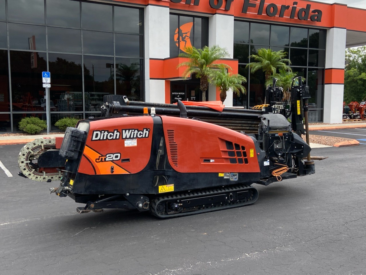 Used, 2019, Ditch Witch, JT20 with 400' very good Hunting 2.38