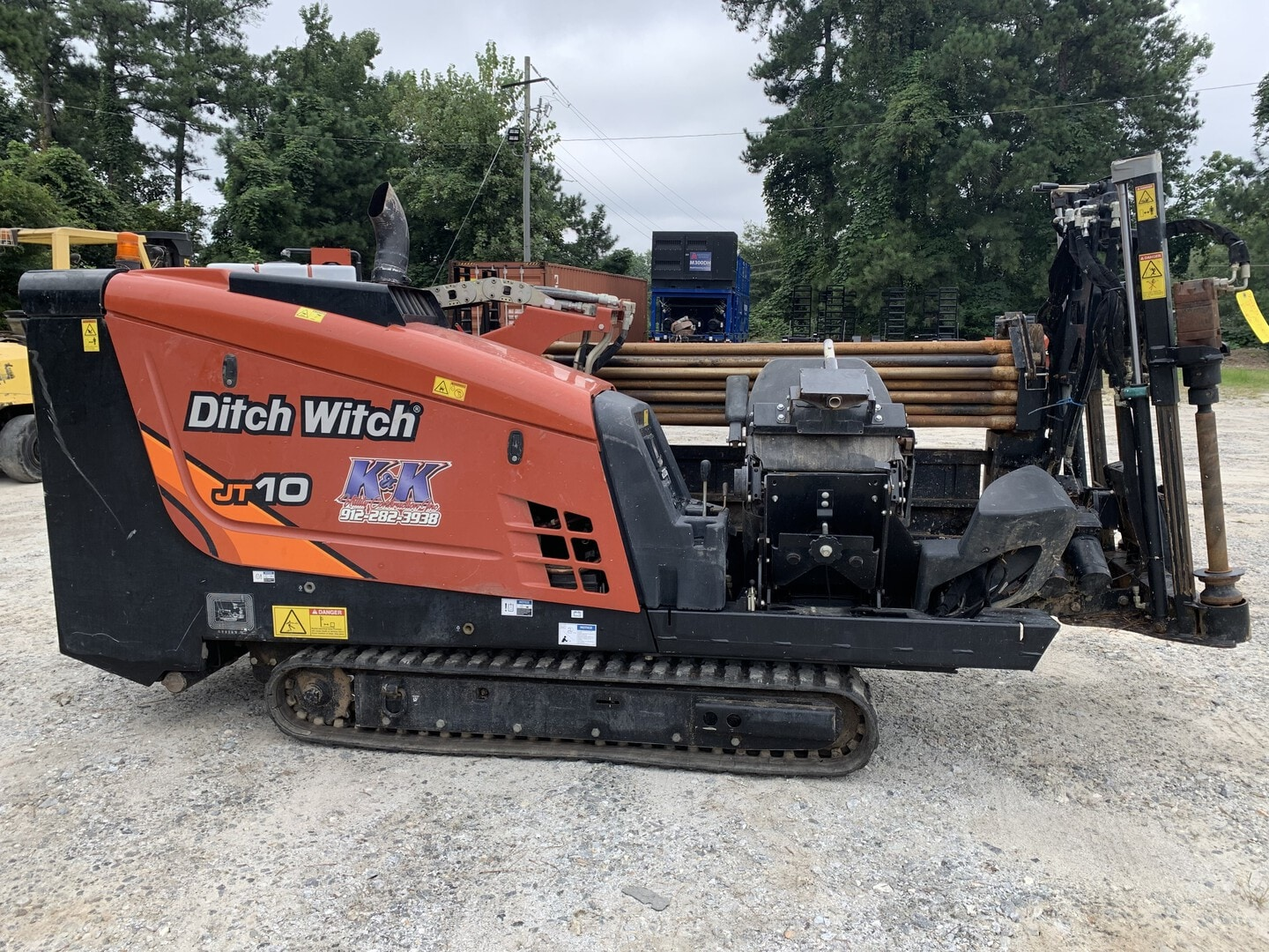 Used, 2019, Ditch Witch, JT10 with 300' DW Pipe, Housing and Bit, Boring / Drilling Machines