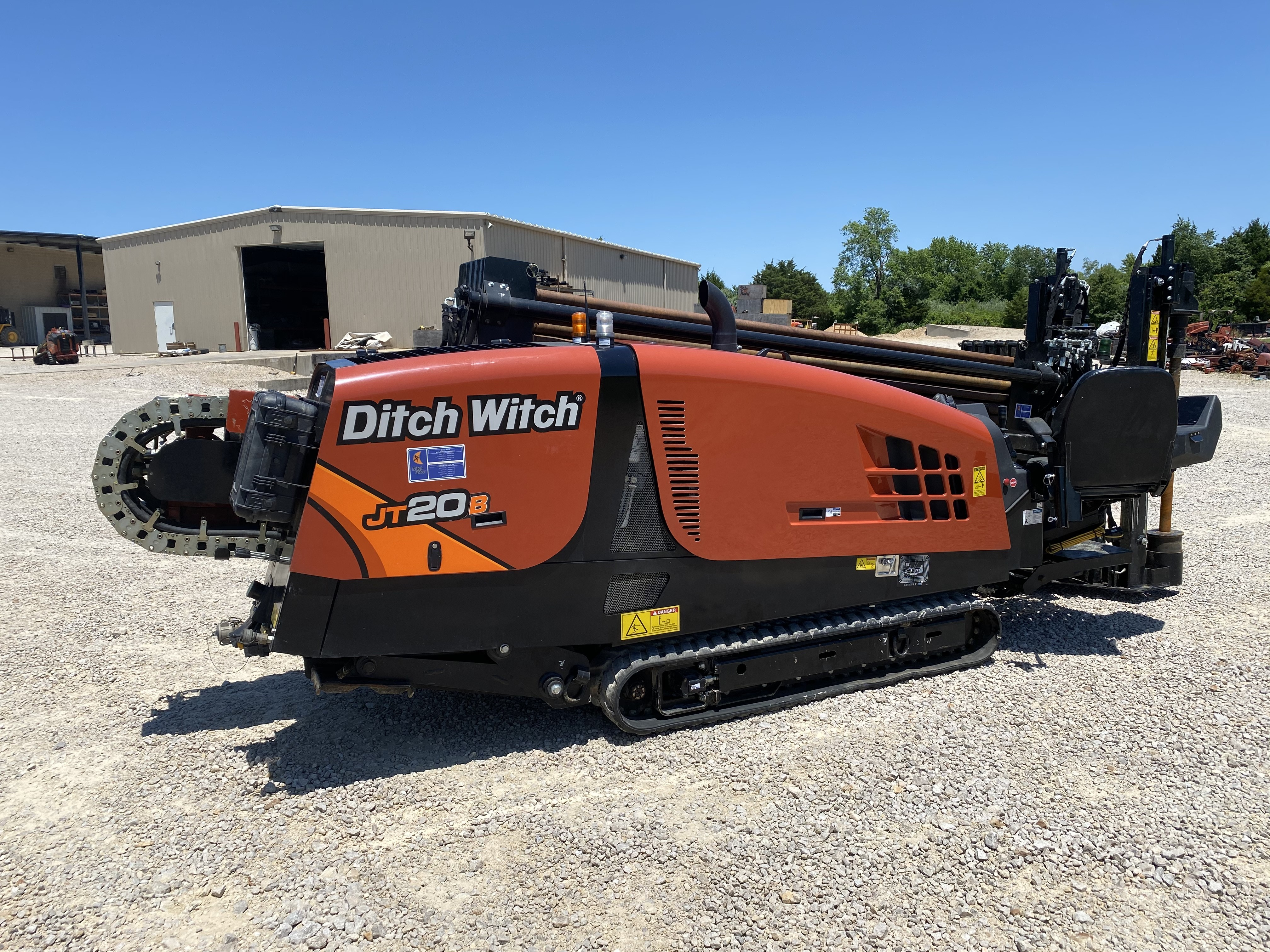 Used, 2019, Ditch Witch, JT20 with 400' DW Unlined Pipe, Housing and Bit (One Owner), Boring / Drilling Machines