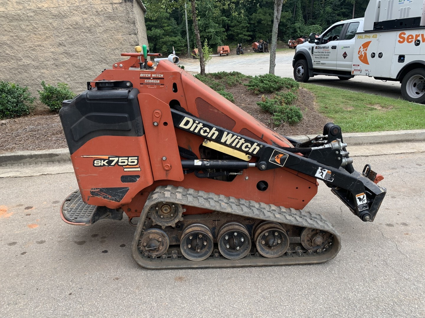 Used, 2013, Ditch Witch, SK755, Skid Steers