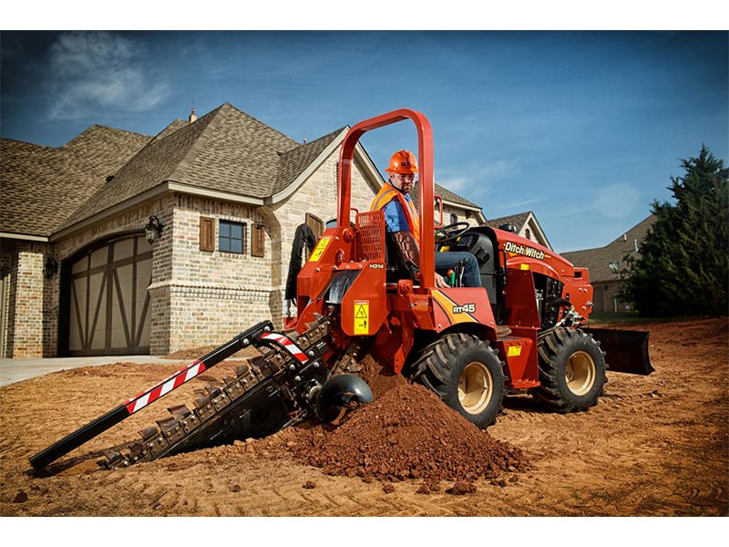 New, 2016, Ditch Witch, RT45 (Tier 4), Trenchers