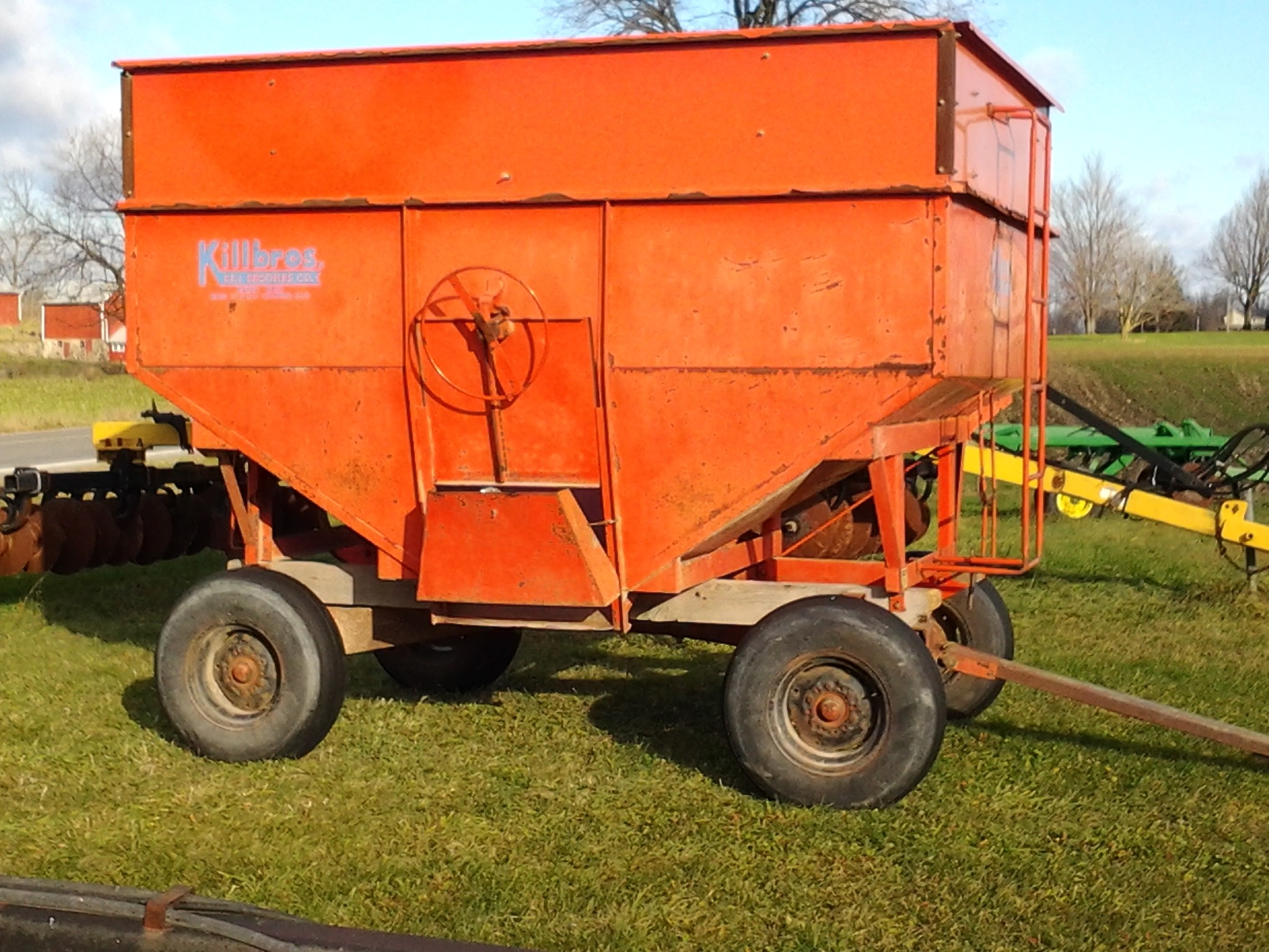Used, 0, Killbros, Model 350, Agricultural Equipment