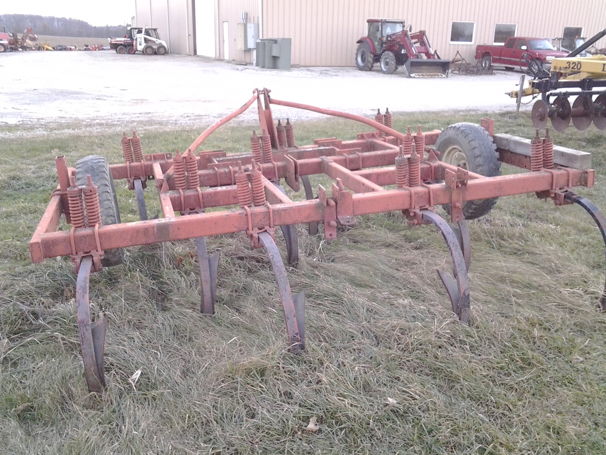 Used, 0, Other, 10 Shank Chisel Plow, Agricultural Equipment